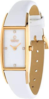 Obaku Women's Nacre Dial Leather Band Watch - V150LVWRW