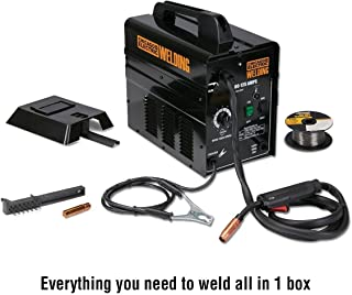 125 Amp 120 Volt/20 Amp Flux Core Wire Welder