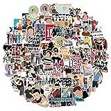 Fancico Pack de pegatinas de One Direction para portátil, pegatinas de vinilo para equipaje, ordenador, monopatín, coche, moto, para adolescentes y adultos