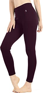Women's Skinny Ankle Pants - Daily Ponte Stretch Knit Leggings with Elastic Waistband