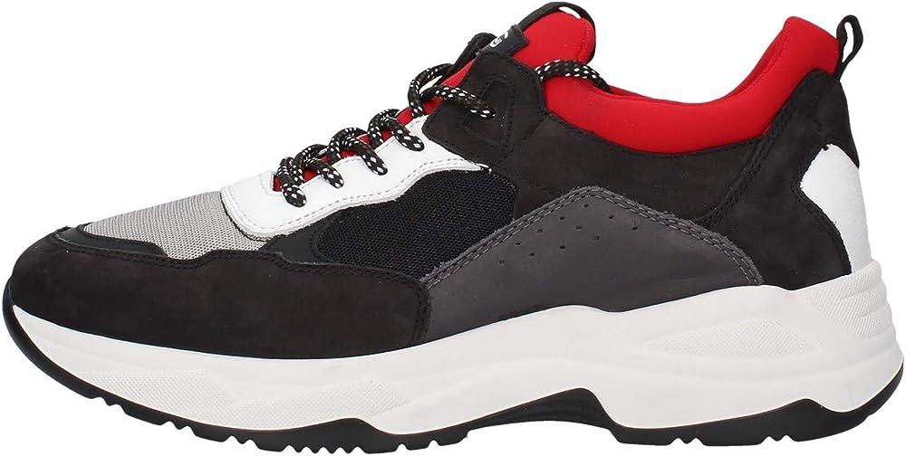 Nero giardini sneaker casual da uomo A901271U 100