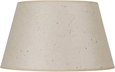 Cal Lighting SH-8113-19F Round hardback Patterned Paper Shade, Kraft