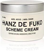 Hanz de Fuko Scheme- Premium Mens Hair Styling Cream with High Shine Finish (2oz)