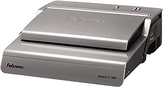 Fellowes 5622101 Galaxy-E 500 Perforelieur électrique par anneaux plastique 25 feuilles Gris anthracite et gris clair