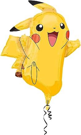 "Anagram International 2946001 Pikachu Shape Balloon Pack, 31"""