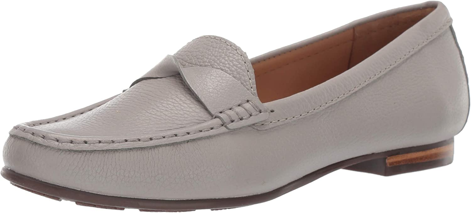 Driver Club USA Womens Womens Genuine Leather Made in Brazil San Diego Loafer Driving Style Loafer