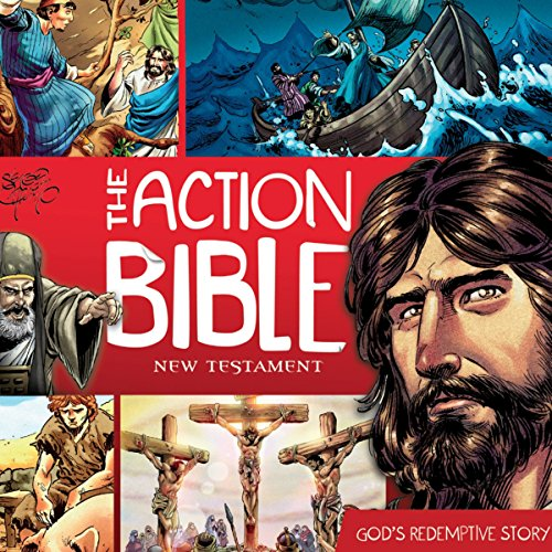 The Action Bible New Testament audiobook cover art