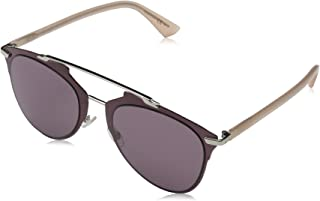 Christian Dior Dior Reflected 1RQP7 Burgundy Peach Reflected Pilot Sunglasses L