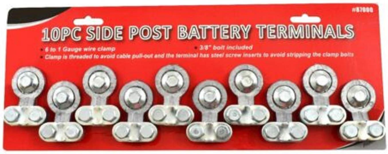 10 pc Long Beach Mall Heavy Duty Side Post Truck Terminal Set Car Battery online shopping