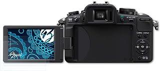 Bruni Skärmskydd är kompatibel med Panasonic Lumix DMC-G2 Film, kristallklart Skyddsfilm (2X)