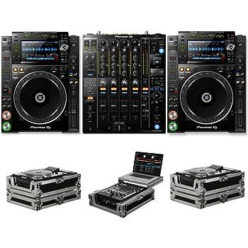 Pioneer DJ CDJ-2000 NXS2 + DJM-900 NXS2 + FZCDJ & FZGS12MX1 Cases Bundle Deal