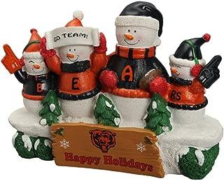 FOCO NFL Unisex Resin Snowman Bench