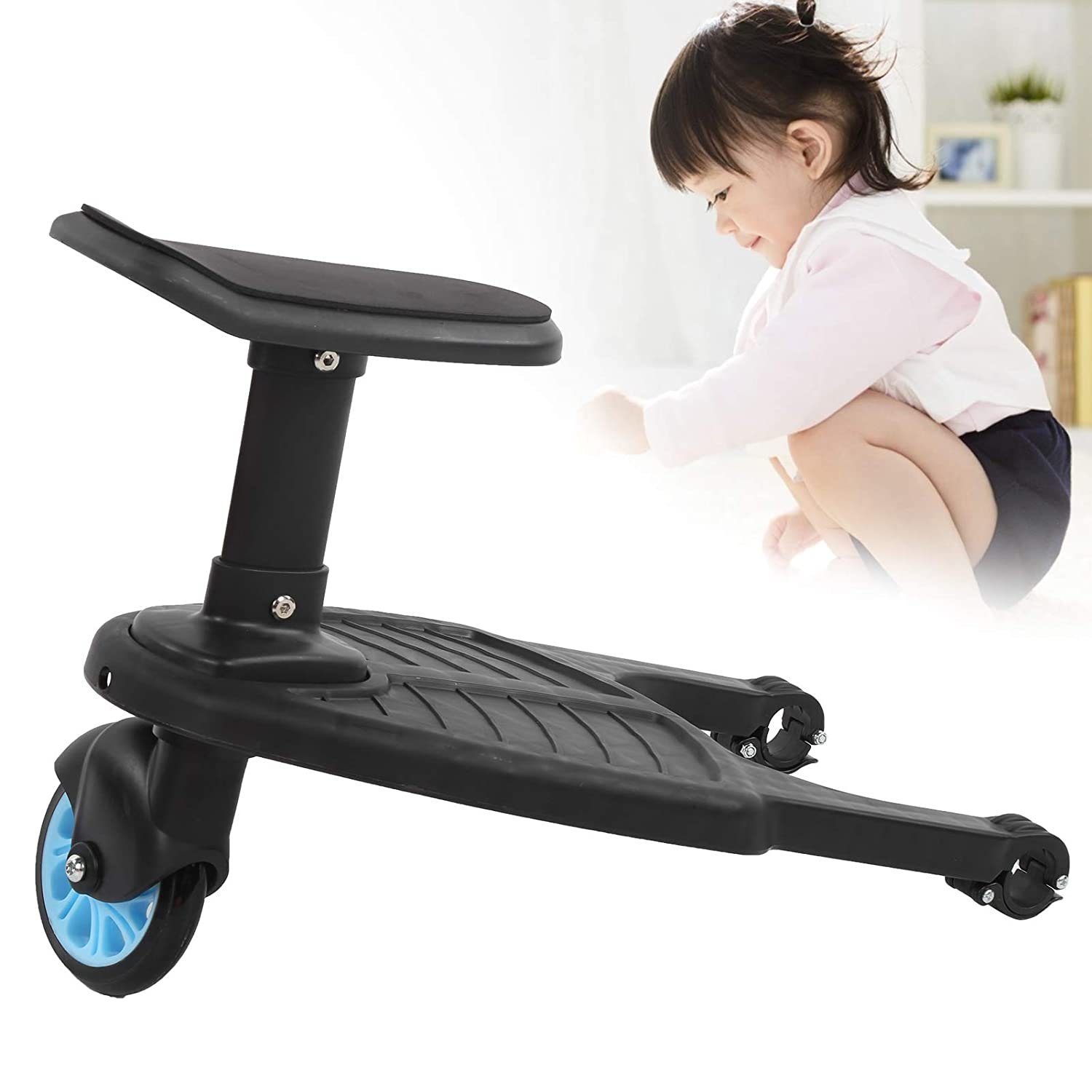 Stroller Max 66% OFF Popular standard Auxiliary Pedal Glider Board Universal Second