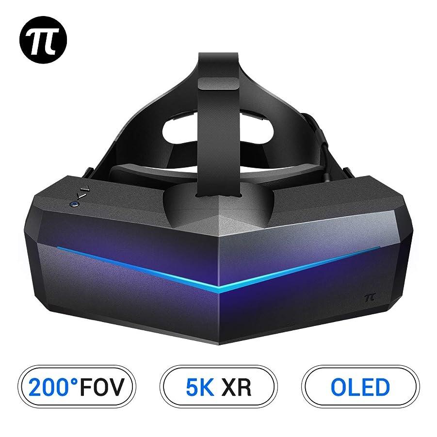 モジュール有利オフェンスPimax 5K XR OLED VR ヘッドマウントディスプレイ、バーチャルリアリティヘッドセット、ワイド 200°FOV, デュアル 2560x1440p OLED パネル & 6 DOF 追跡, 一年間の保証