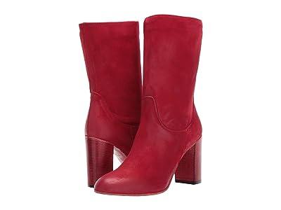 Free People Dakota Heel Boot (Red) Women