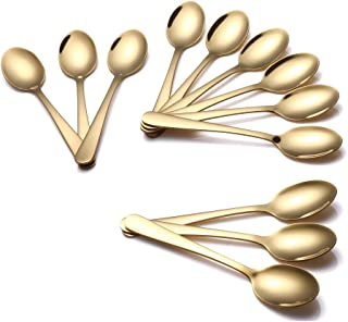 gold coffee spoon
