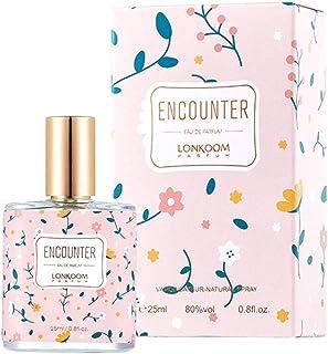 LONKOOM 生花の香りの香水 女性 EDP 香水 旅行サイズ オードトワレ 25ML