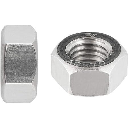 Aerzetix/ /50/X Dado esagonale con colletto M5/8/mm h5/mm din6923/Acciaio zincato c19226