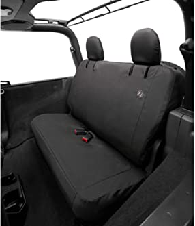 Bestop 2929309 Charcoal Seat Cover Front Jeep Wrangler 2018-Current JL 2-Door