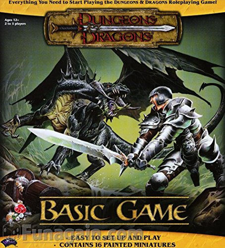 Dungeons & Dragons Basic Game: Dungeons & Dragons Game (D&D Game)