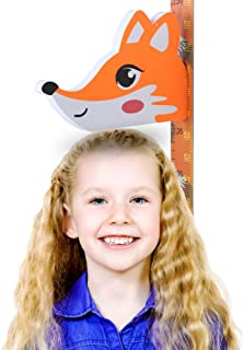 MiGAOTE 3D Colorful Fox Height Measure Ruler, The Perfect...