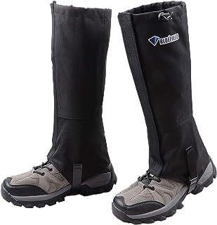 Azarxis Polainas de Senderismo Impermeable 1 Par Transpirable Polainas de Nieve para Trekking Caza Esquí Montaña al Aire Libre