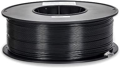 Inland 1.75mm Black ABS 3D Printer Filament - 1kg Spool (2.2 lbs)