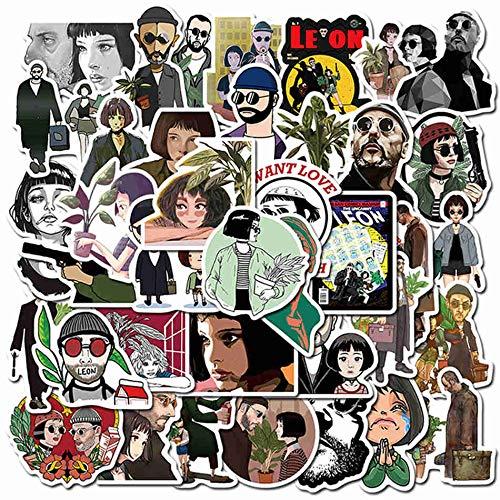 Anime Movies Stranger Things Stickers Guitar Luggage Laptop Skateboard Motorcycle Tim Burton Outer Banks Sticker Toys 50Pcs