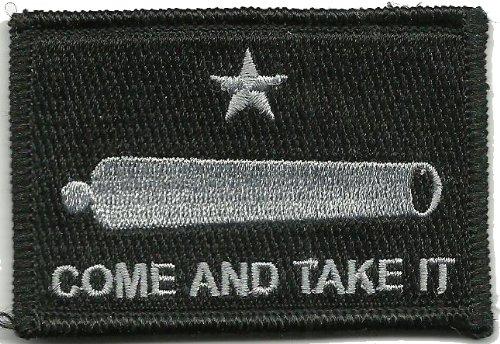 Gadsden and Culpeper Gonzales Tactical Flag Patch (Black)