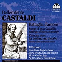 Castaldi - Songs Of Love & Virtuosic Lute by Gian Paolo Fagotto (2009-09-08)