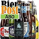 Bierabo - INTERNATIONAL - 8 verschiedene Biere - 1 Monat - von.BierPost.com (für mehrere Monate...