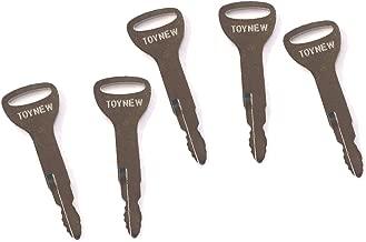 5 Ignition Keys 57591-23330-71 A62597 162597 for Toyota Forklift
