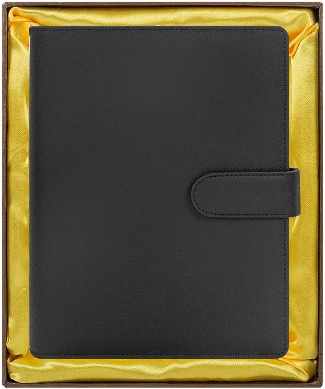 nueva gama alta exclusiva Cuaderno, Regalo de Empresa con energía energía energía móvil, papelería, Acolchado, Libro, Hojas Sueltas, Caja de Regalo, Negro, A5   9  24 cm  mejor vendido