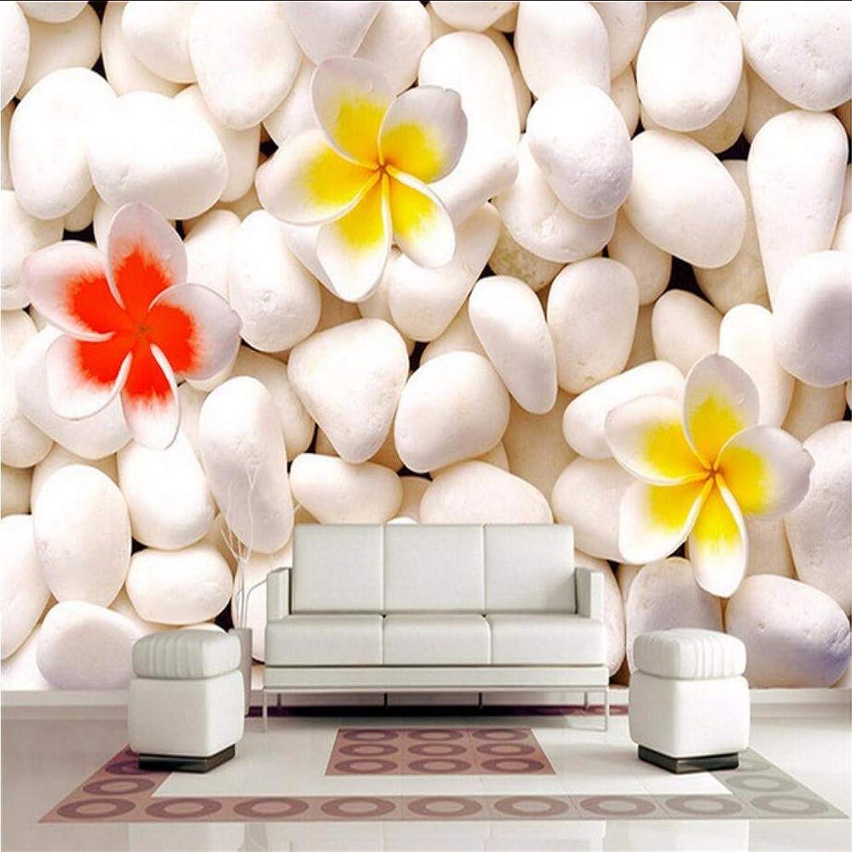 buen precio Yologg Yologg Yologg Mural Personalizado 3D Fondos De Pantalla De Piedra blancoa Para Las Parojoes Color De La Flor 3D Que Cubre La Parojo Sala De Estar Decoración Para El Hogar Moda Marina Hotel-200X140Cm  precio mas barato