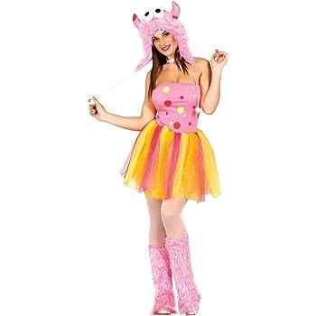 Disfraz de monstruo Pink adulta talla M (38-40): Amazon.es ...