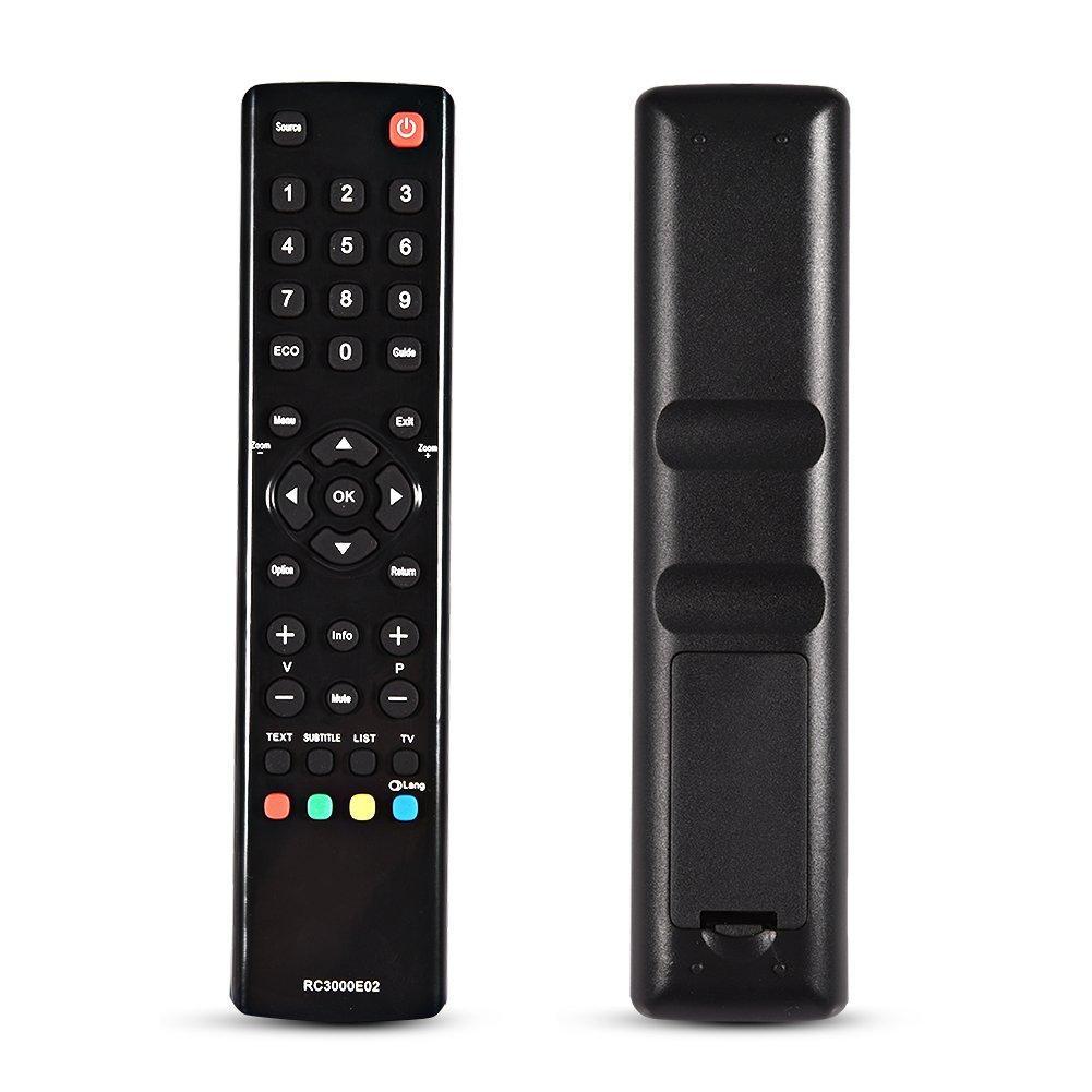 Mando a distancia de repuesto para TCL RC3000E02, mando a distancia universal de repuesto para TCL RC3000E02 LED LCD Smart HDTV TV: Amazon.es: Electrónica
