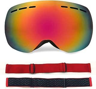 Aooaz TPU PC Border Less Double Layer Permanent Anti Fog Outdoor Ski Goggles