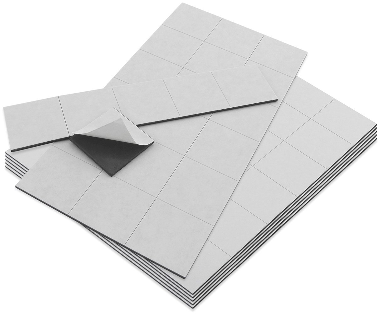Master Magnetics ZGN60APAADCR4X6X6 Flexible High material Las Vegas Mall Squares with Magnet