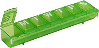 Ezy Dose Locking Weekly (7-day) Pill Planner & Organizer (Large) | Assorted Colors