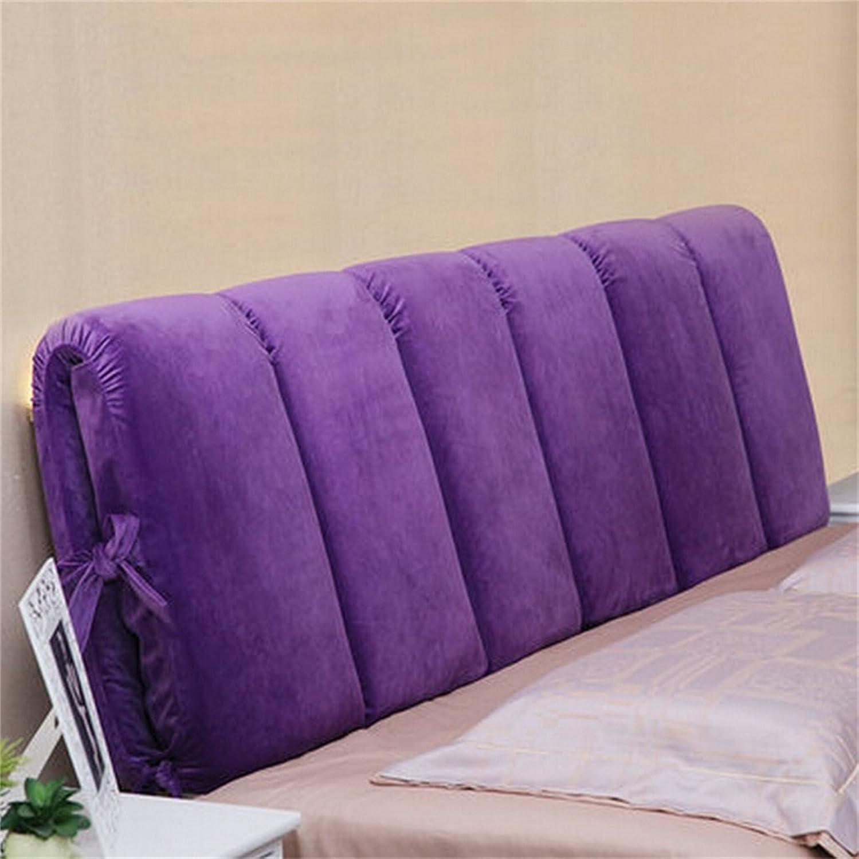 European Modern Minimalist Bedside Soft Coussin de chevet Bed Bed Dossier de qualité par le paquet Coussin détachable pour lit de 0.9m ou lit 1.2m ou lit de 1.5m ( couleur    8 , taille   120508cm )