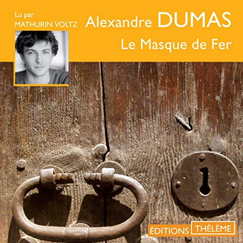 Le masque de fer cover art
