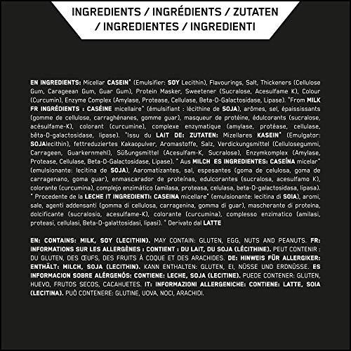 Optimum Nutrition 100% Casein Gold Standard Protein Vanilla, 1er Pack (1 x 450 g) - 8