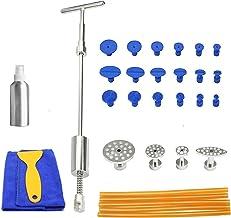 ZRNG Auto Reparatie Tool Paintless Dent Puller Auto Removal Tool Slide Hamer Puller Tabs Zuignap Handgereedschap Kit (Colo...