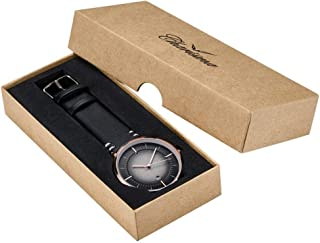 Charisma Dress Watch For Men Analog Leather - C1004BRB