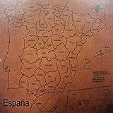 Maqueta Puzzle Provincias España
