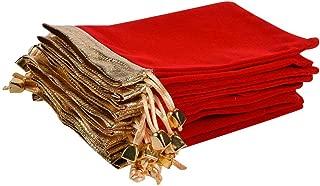 Best red velvet pouch Reviews