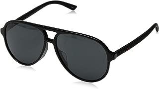 GG0423SA Sporty Pilot Shape Sunglasses 60mm