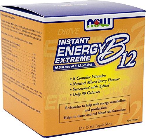NOW B12 Instant Energy Extreme 15mL*12