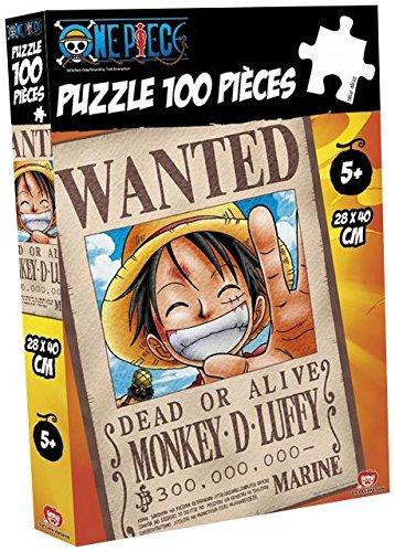 Obyz ObyzSMIJDP035 Abysse Wanted Luffy Puzzle (100 Piezas)