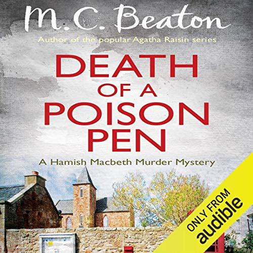 Death of a Poison Pen cover art
